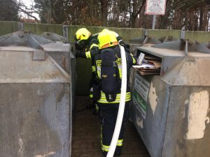 Containerbrand vom 05.01.2020